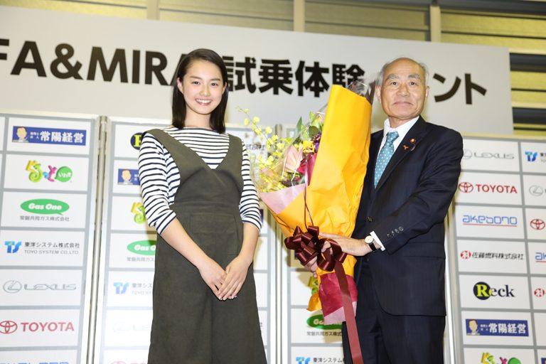 第6回 LFA&MIRAI試乗体験イベント