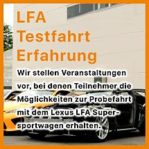 LFA Test Drive experience